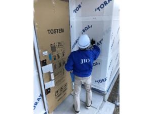 音羽町建売り 新築工事⑨(外装下地検査)